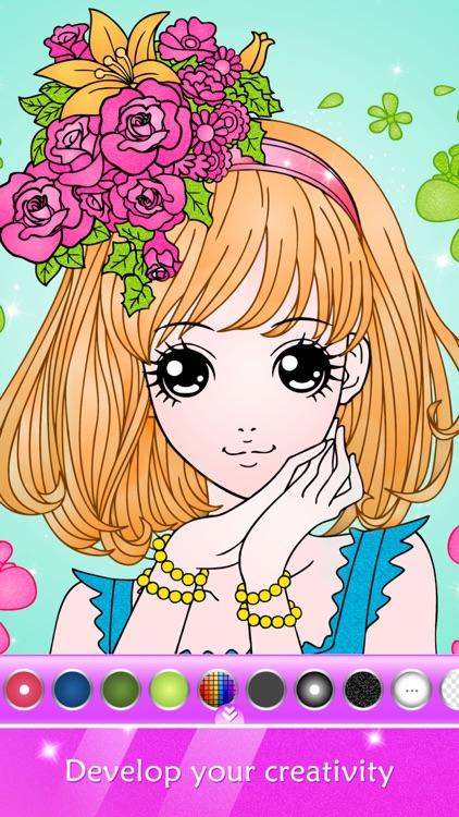 Princess Coloring Book Show screenshot-0