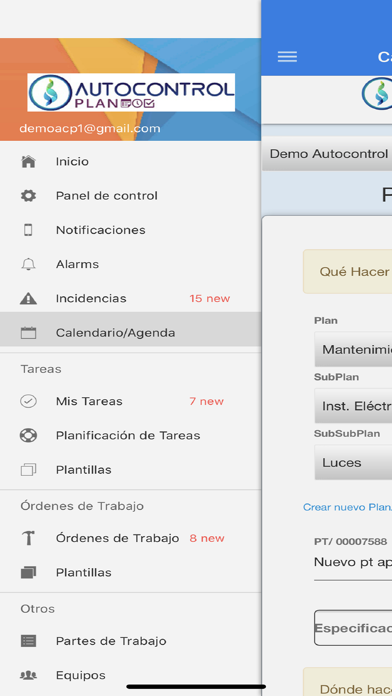 Autocontrol Plan screenshot 3