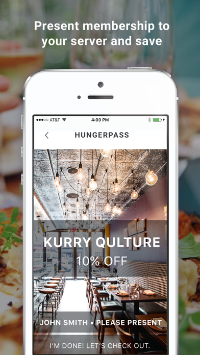 HungerPass - Restaurant Deals screenshot four