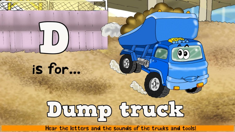 Construction Truck Games ABC screenshot-3