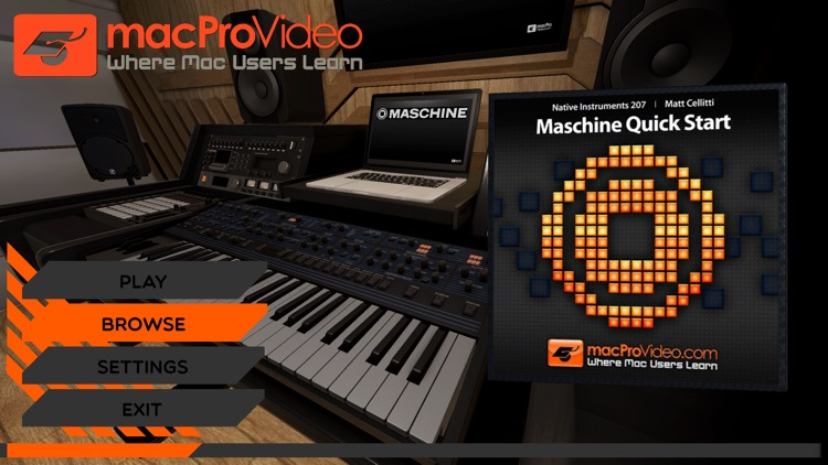 Start Course For Maschine