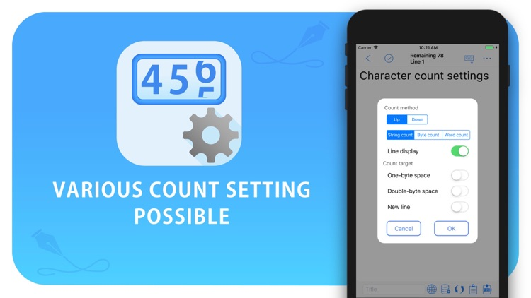 Characters count notes+ screenshot-8