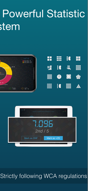 ‎Cutimer Pro: Magic Cube Timer Screenshot
