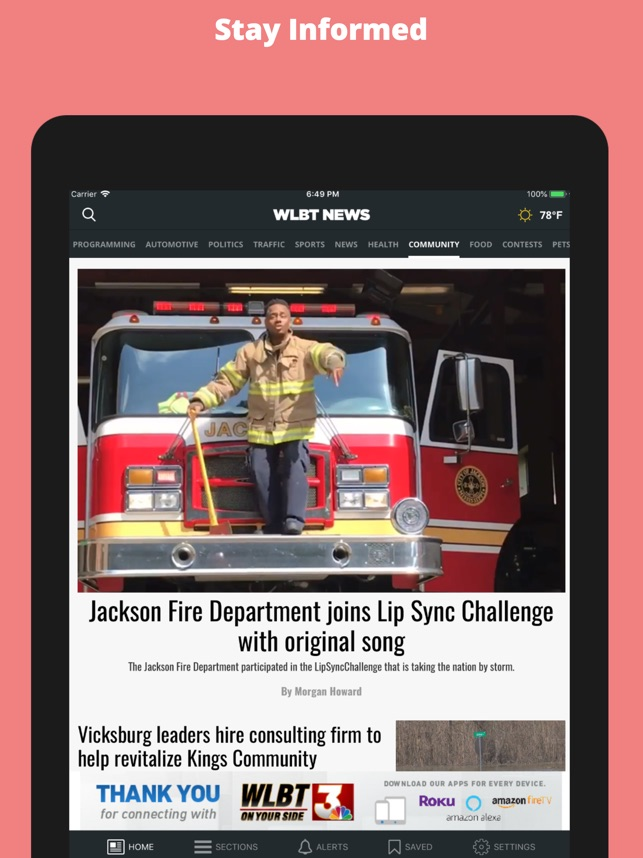 WLBT 3 On Your Side on the App Store