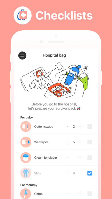 Screenshot for Hello Belly: Pregnancy Tracker in Denmark App Store