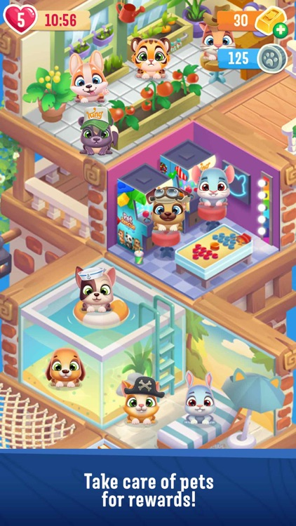 Pet Rescue Puzzle Saga screenshot-3