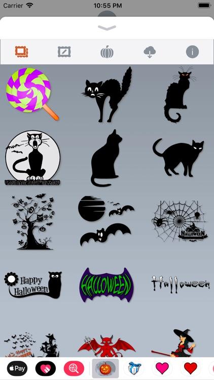 Happy Halloween • Stickers screenshot-4
