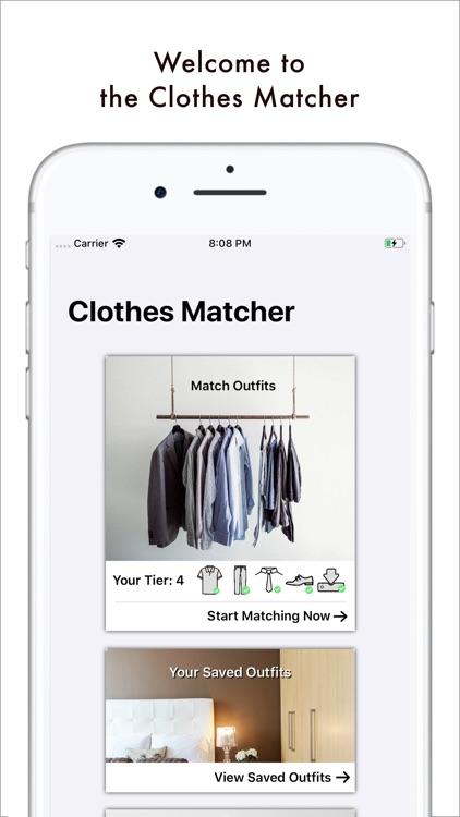 The Clothes Matcher