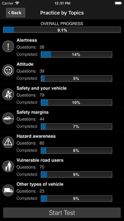 Driving Theory Test UK Car Pro screenshot-4
