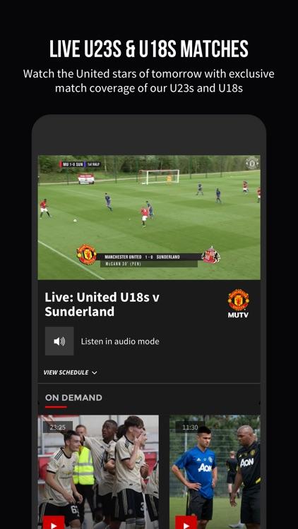 MUTV - Manchester United TV screenshot-3