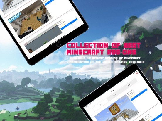 Addons for minecraft pe - mcpe screenshot