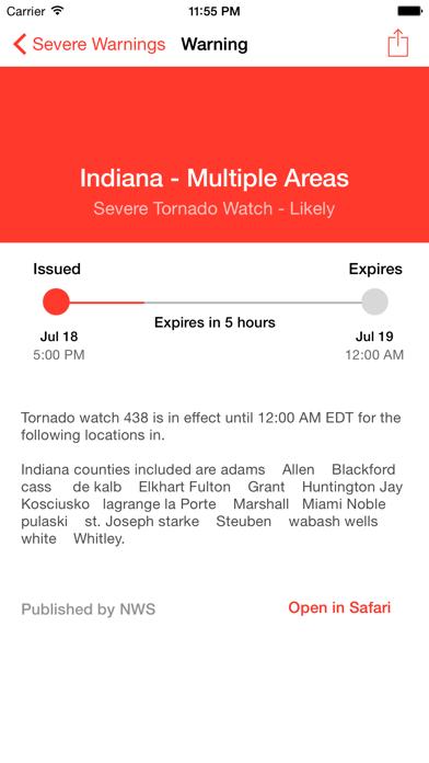 My Hurricane Tracker Pro Screenshot