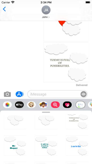 cheer up! stickers screenshot 3