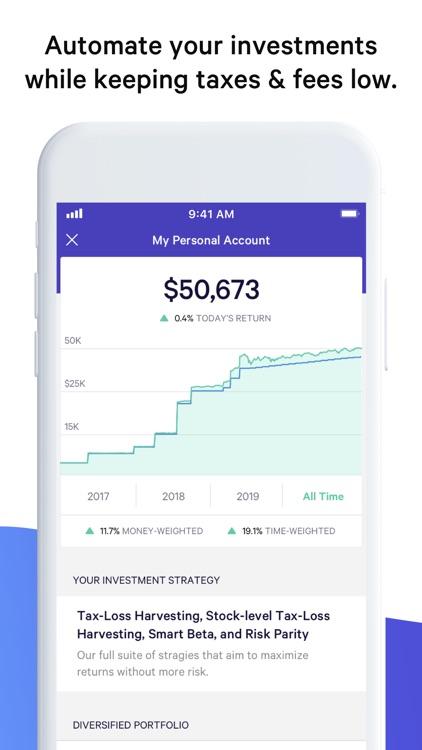 Wealthfront screenshot-0