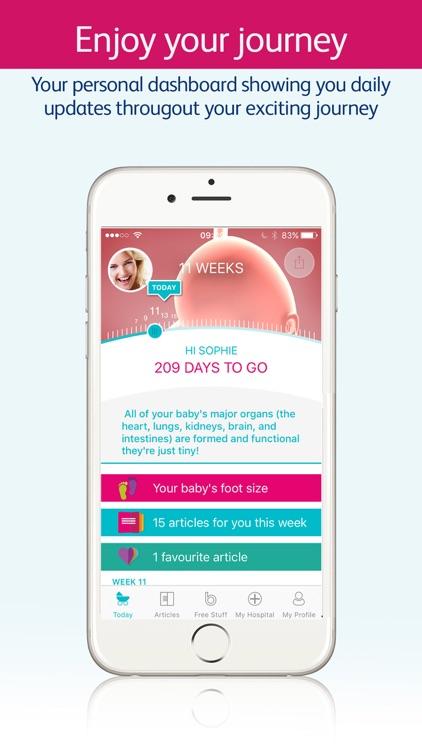 Bounty Pregnancy App & Tracker screenshot-3