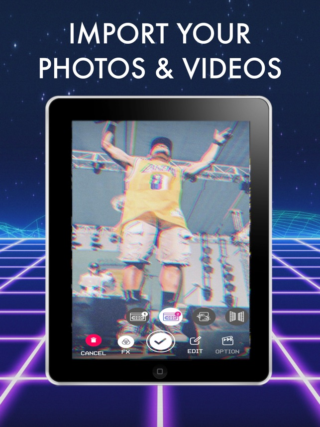 Rad Video Editor: VHS Cam Star on the App Store