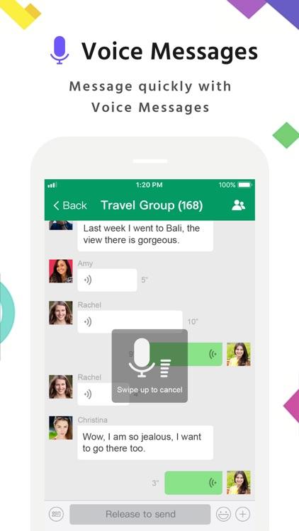 MiChat -Chat & Meet New People screenshot-6