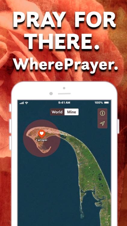 WherePrayer - Pray for There
