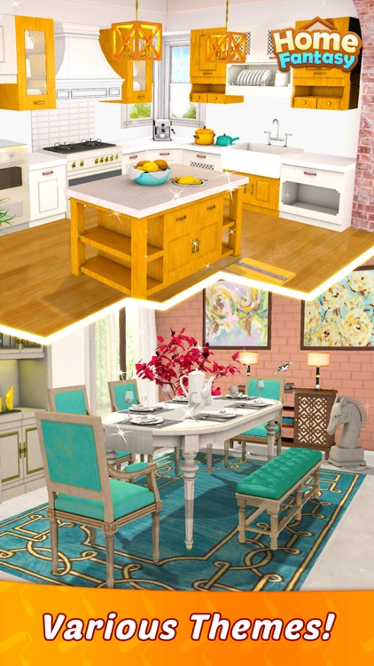 Home Fantasy: Home Design Game screenshot-5