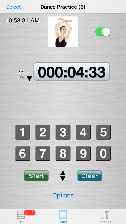 Easy UP/down Timers