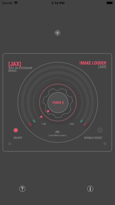 JAX !Make Louder (Audio Unit) screenshot 2