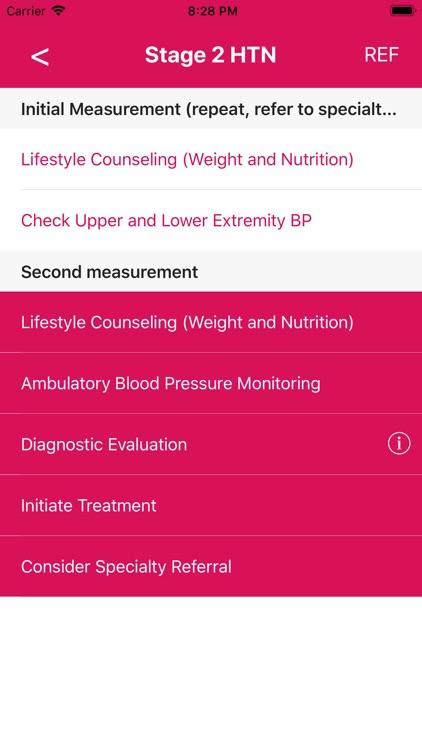 Peds Blood Pressure Guide
