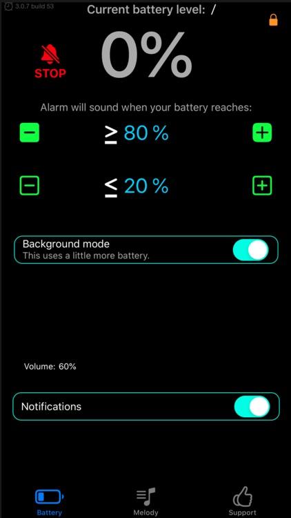 Battery Life Alarm PRO