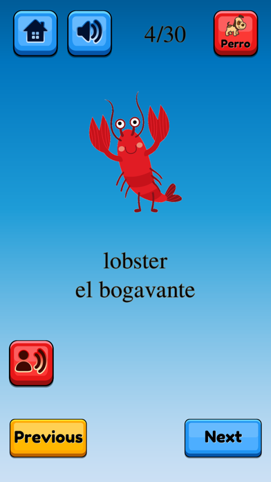 Fun Spanish Flashcards Pro screenshot #4