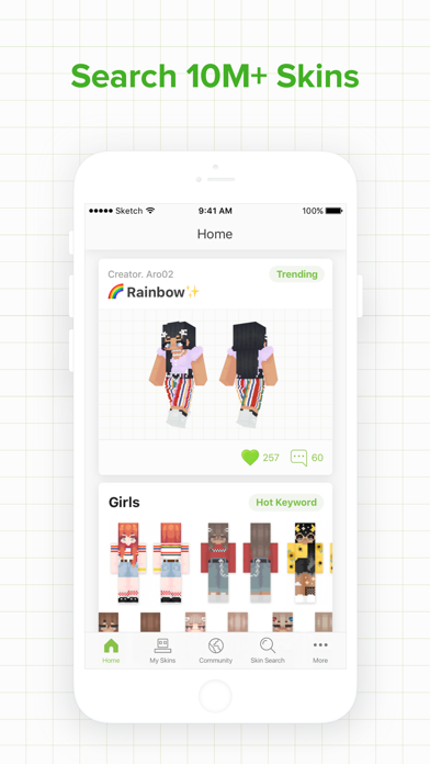 Skinseed for Minecraft Skins App Download - Android APK