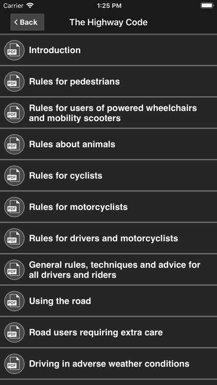 Motorcycle Theory Test UK Pro screenshot-8