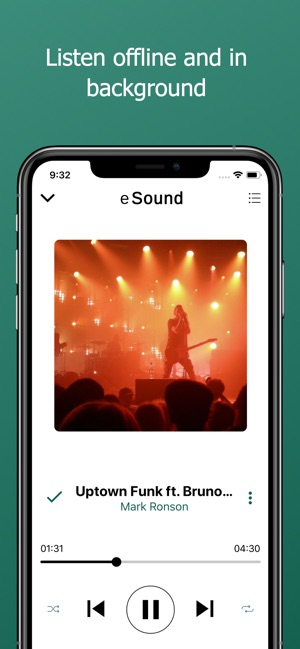 ‎eSound Music Screenshot