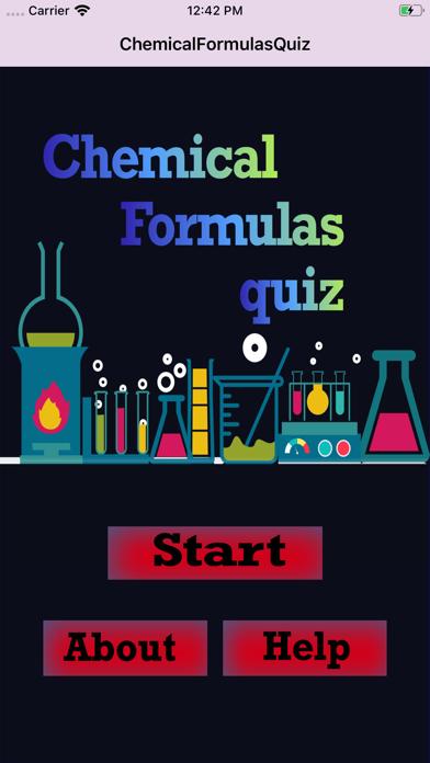 ChemicalFormulasIQ screenshot 1