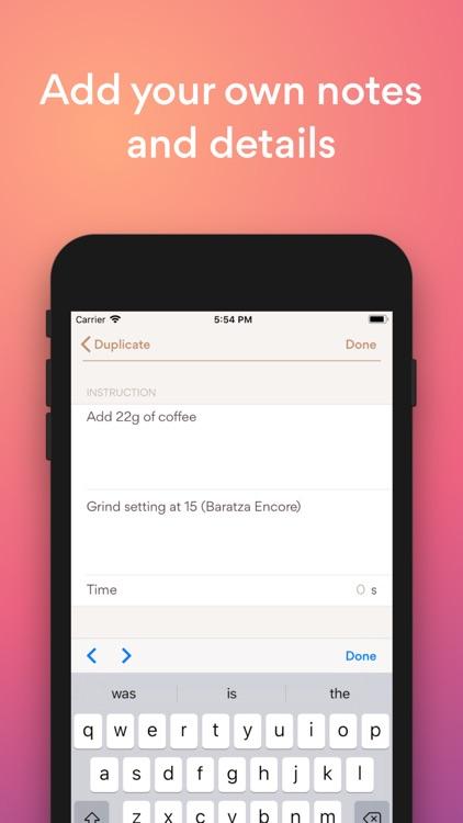 Go Coffee - coffee recipes screenshot-4
