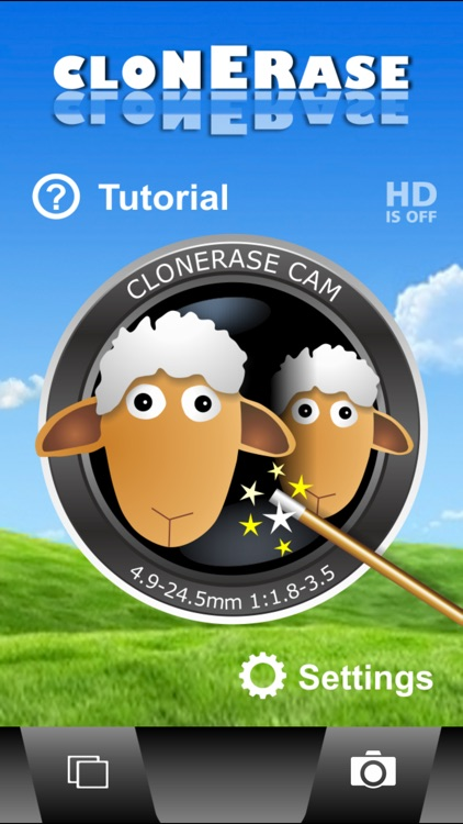 ClonErase Camera