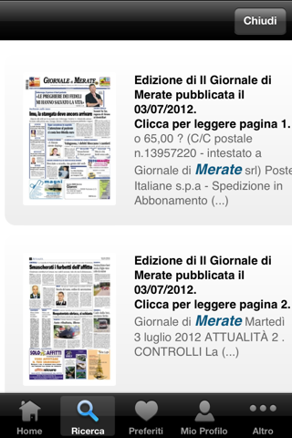 Giornale di Merate Digitale - náhled