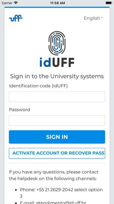 UFF Mobile Plus screenshot #2