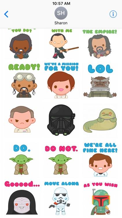 Star Wars Stickers2 screenshot-0
