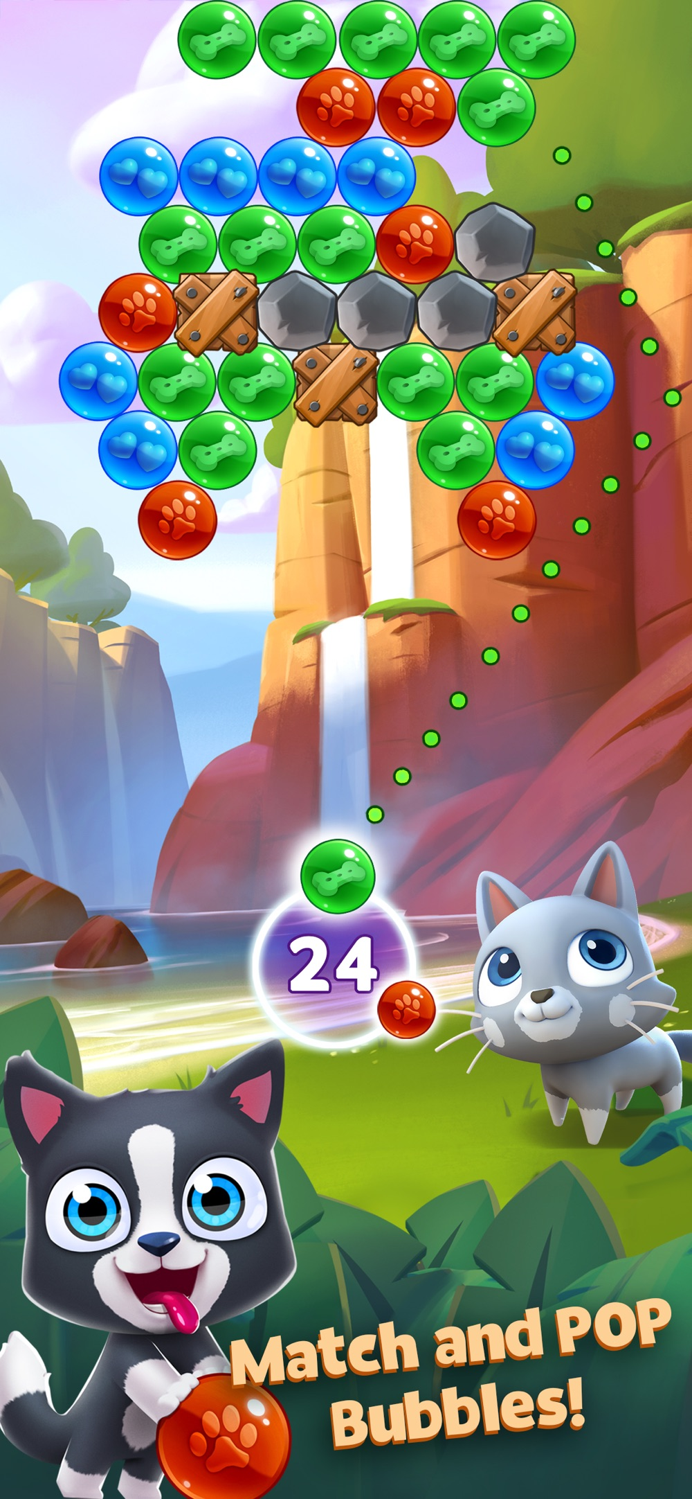 Pet Paradise: Bubble Pop Match Cheat Codes