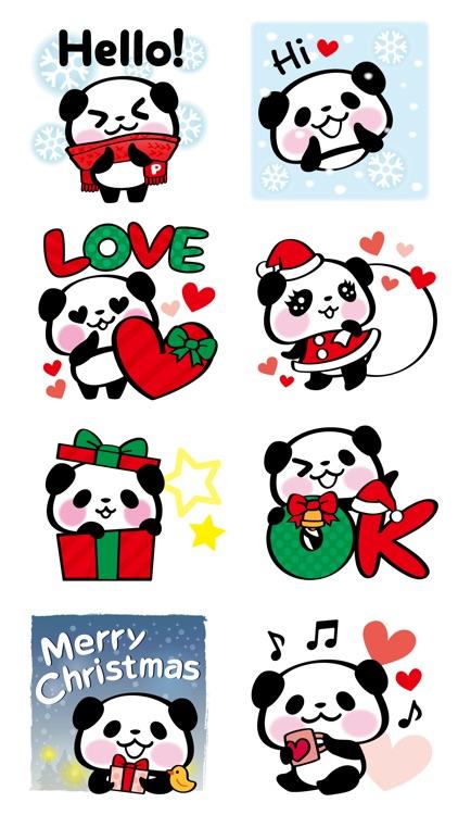 Pandaaa!!! Xmas Stickers