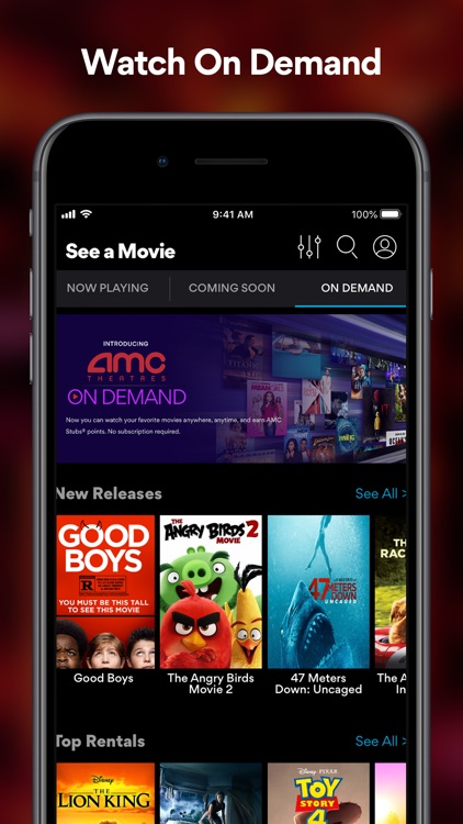 AMC Theatres: Movies & More screenshot-5