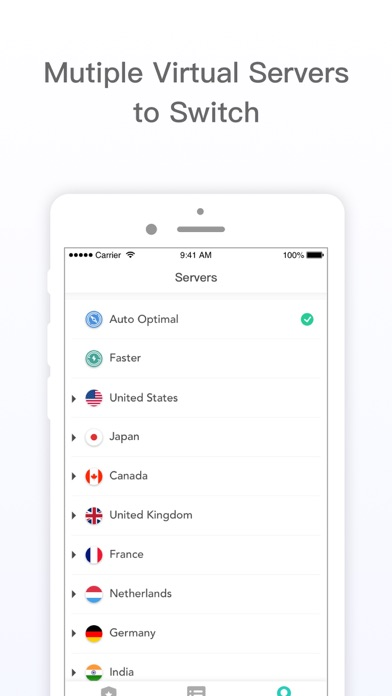 X VPN Go-Secure Hotspot Proxy Screenshot