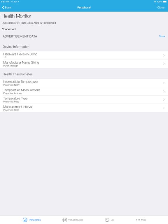 LightBlue - Bluetooth Low Energy screenshot