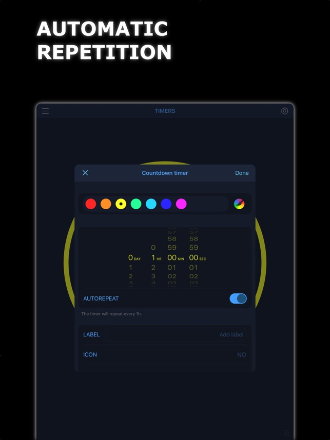MultiTimer: Multiple timers on the App Store