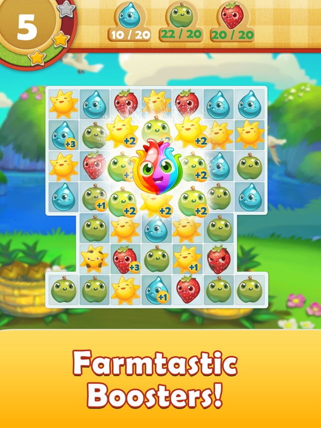 ‎Farm Heroes Saga Screenshot