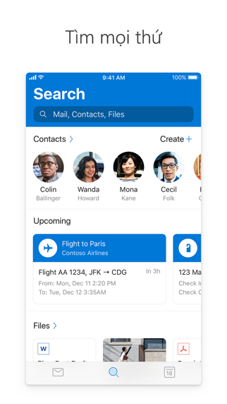 Screenshot for Microsoft Outlook in Viet Nam App Store