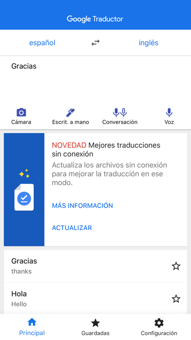 Screenshot for Google Traductor in Colombia App Store