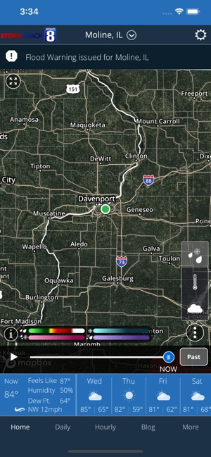 WQAD Storm Track 8 Weather on the App Store