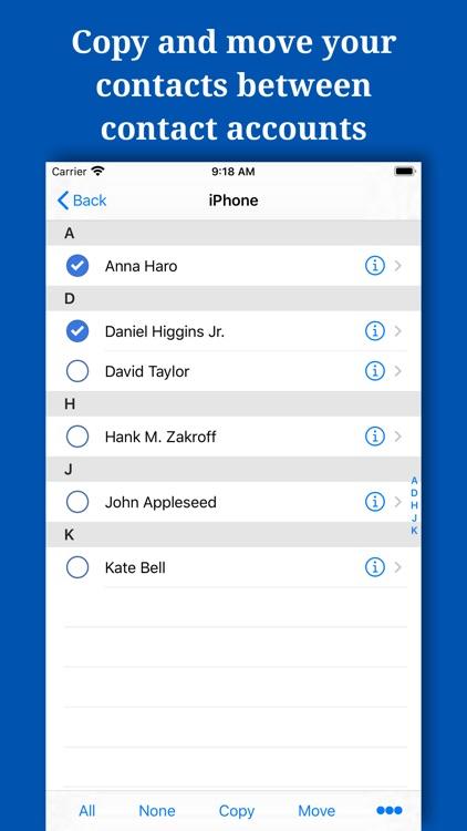 Backup And Manage Contacts screenshot-4
