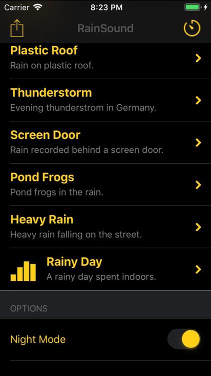 Rain Sleep Sounds - Premium screenshot-3