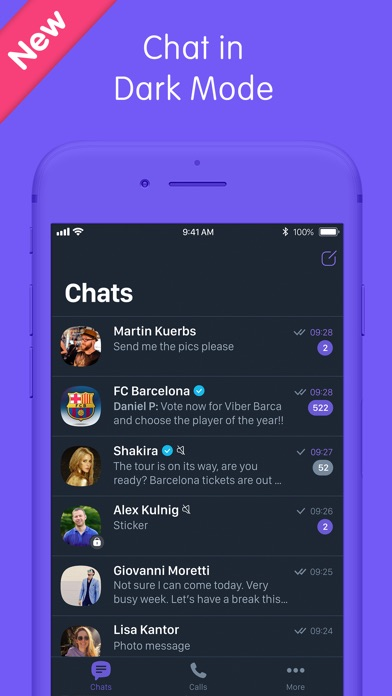 Screenshot for Viber Messenger: Chats & Calls in Estonia App Store